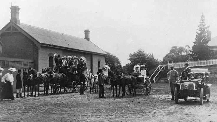 Kogarah Railway Station in southern Sydney in 1904.