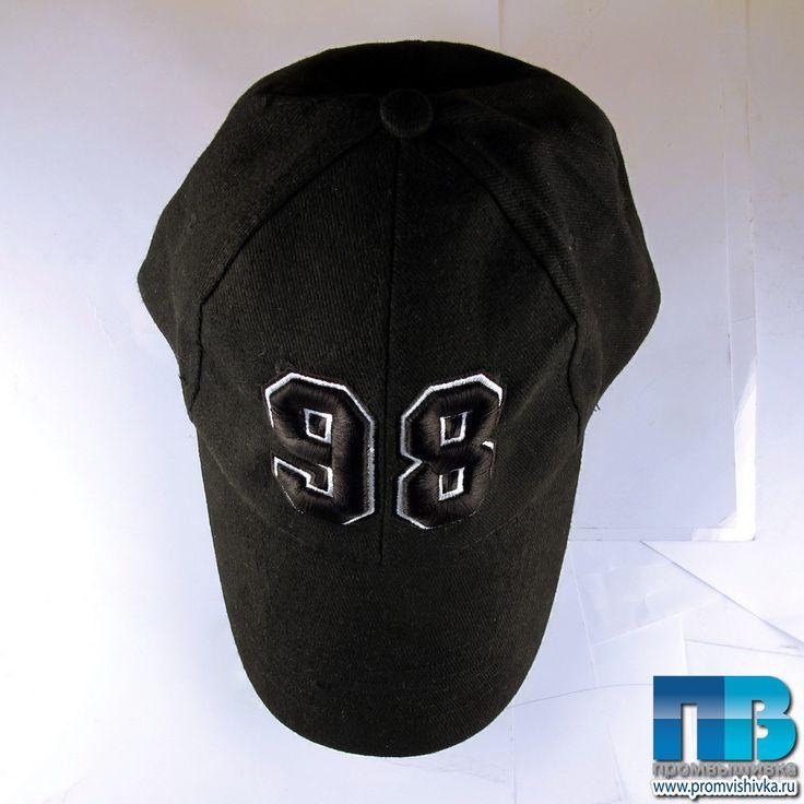 """Бейсболка с 3D-вышивкой """"98"""""""