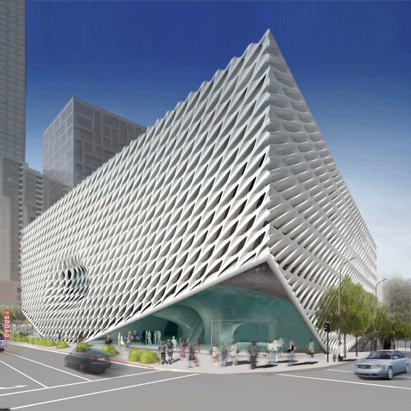 Diller Scofidio + Renfro's Broad Art Museum in Los Angeles, scheduled for completion in 2014