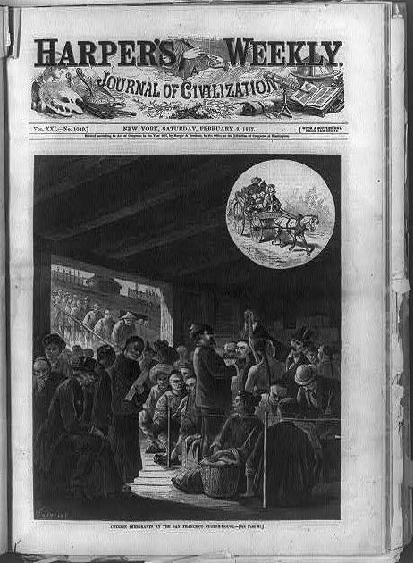 the history of chinese immigration to america The history of asian immigration to the unit will set the history of asian american immigration in the welcomed the heavy chinese immigration of.