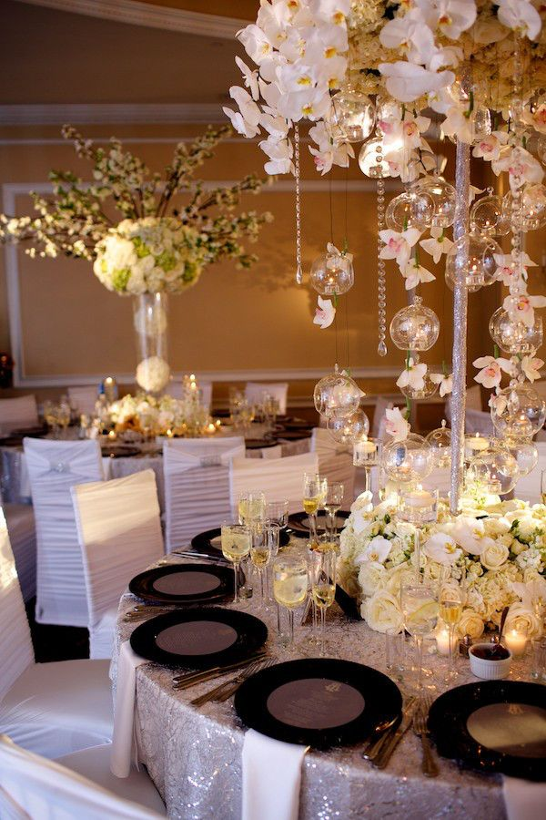 Wedding In Oheka Castle Reception Centerpieceswedding Ideaswedding