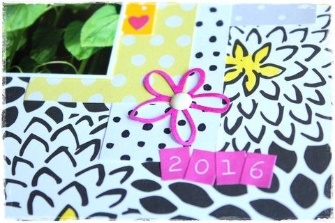 Papírové výřezy Nemravka kytiček se dají barvit inkousty, barvami apod.