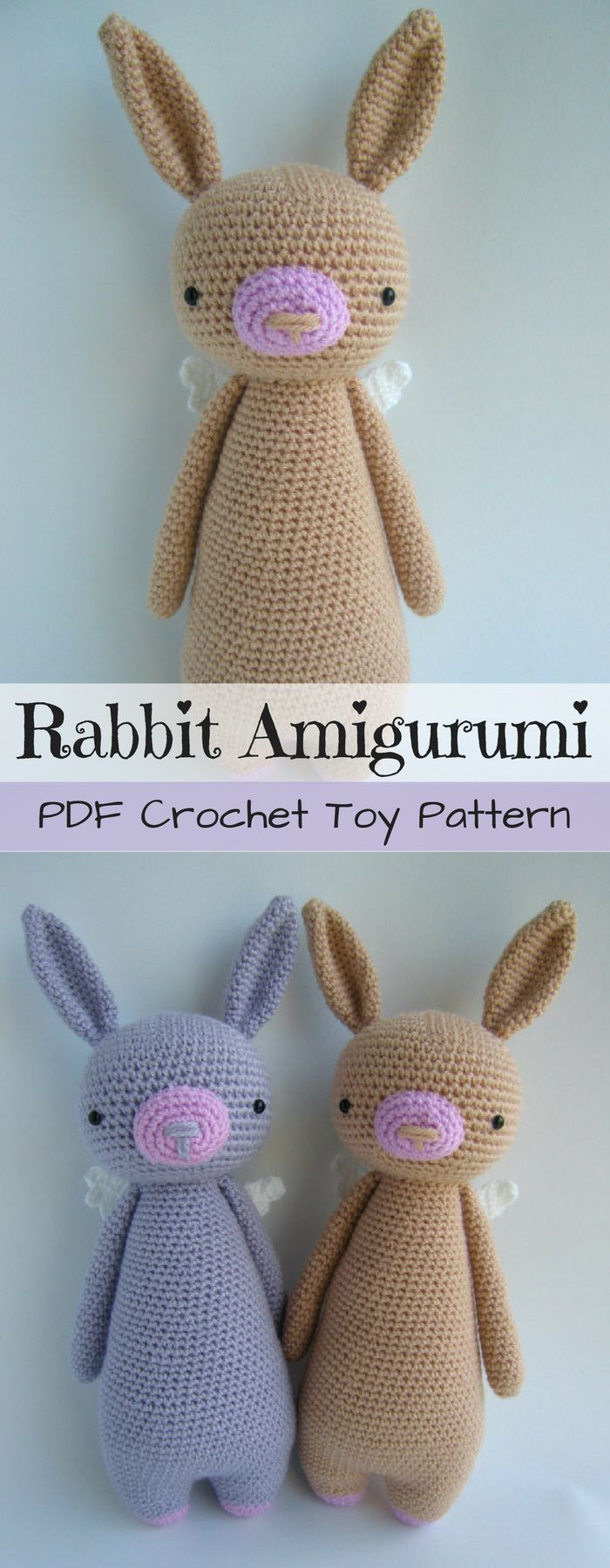 We knit the Easter bunny crochet Toys with our own hands, patterns, video, MK