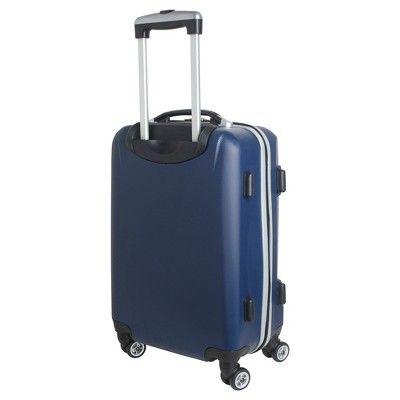 NFL Denver Broncos Mojo Carry-On Hardcase Spinner Luggage - Navy