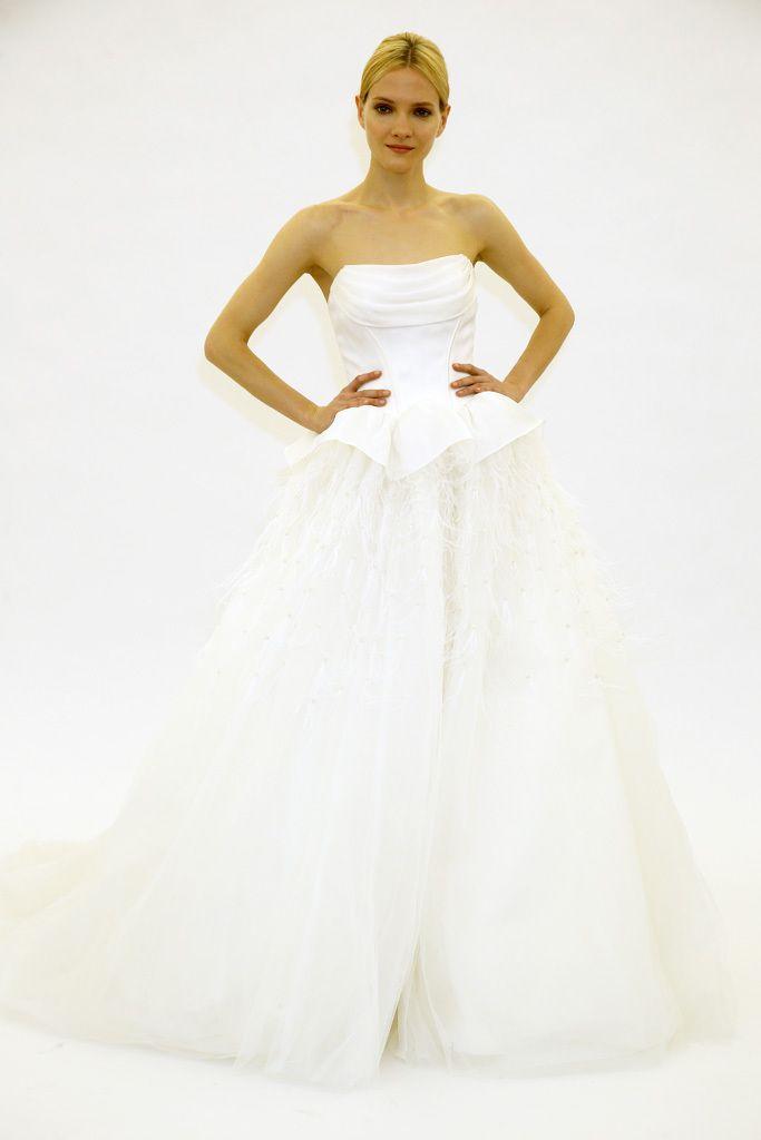 The 19 best Fav Zac Posen images on Pinterest | Wedding frocks ...