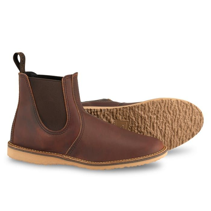 Red Wing Heritage CHELSEA BOOT + CARE KIT in Copper Rough and Tough