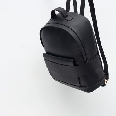 Image 4 of WIDE STRAP BACKPACK from Zara http://www.zara.com/us/en/woman/bags/wide-strap-backpack-c269200p2774003.html#selectedColor=040