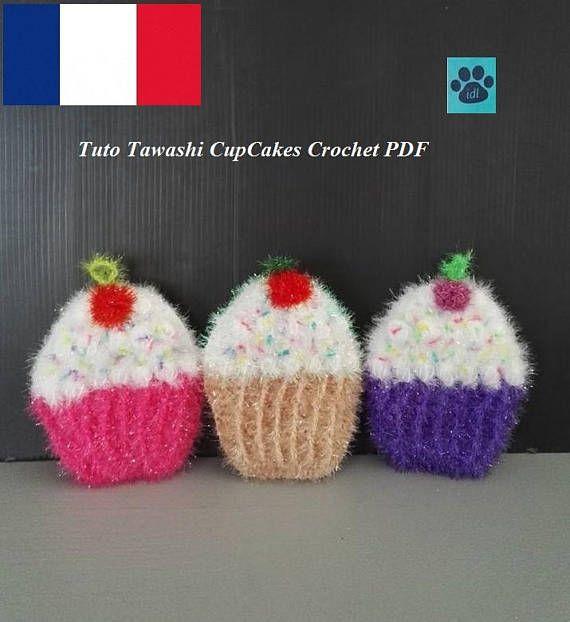 Tuto tawashi Cupcake