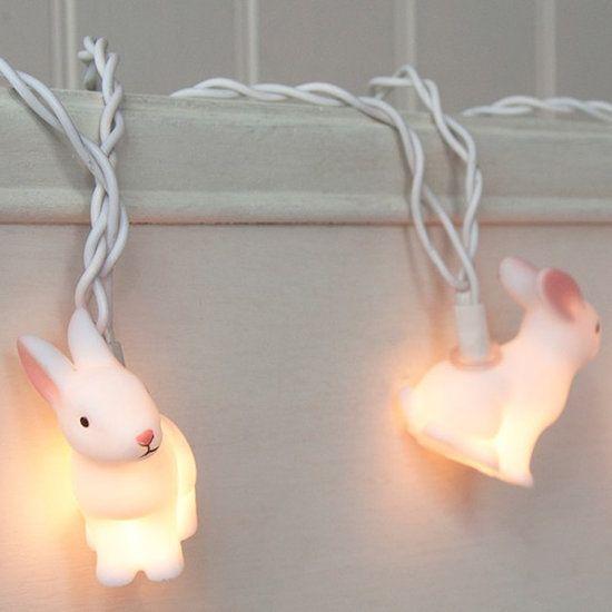 Guirlande lumineuse - 10 Lapins
