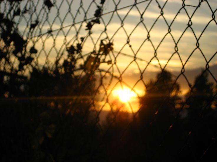 Coucher de soleil en Espagne.