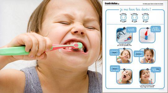Je me lave les dents
