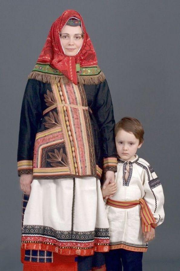 Русский народный костюм в работах Дмитрия Давыдова. Белгородская область