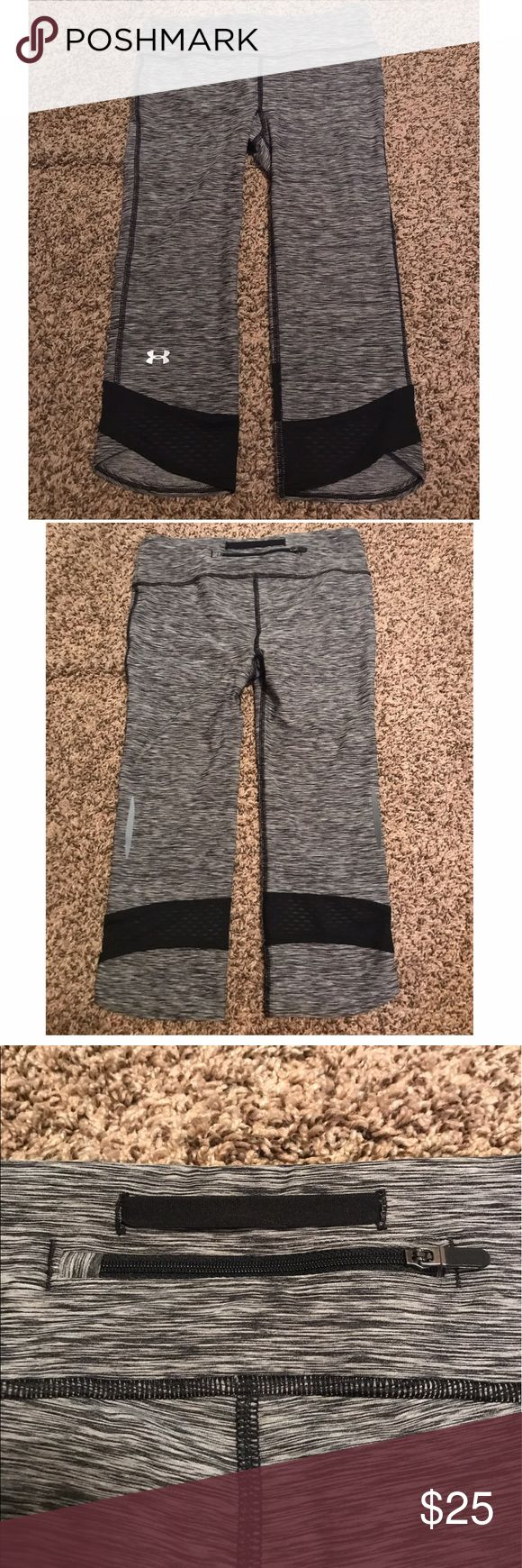 Under Armour leggings Never worn, in brand new condition! Very stretchy and comfy, I just never got around to wearing them other than trying them on. I did cut the tag out but it fits like a size small. Under Armour Pants Leggings