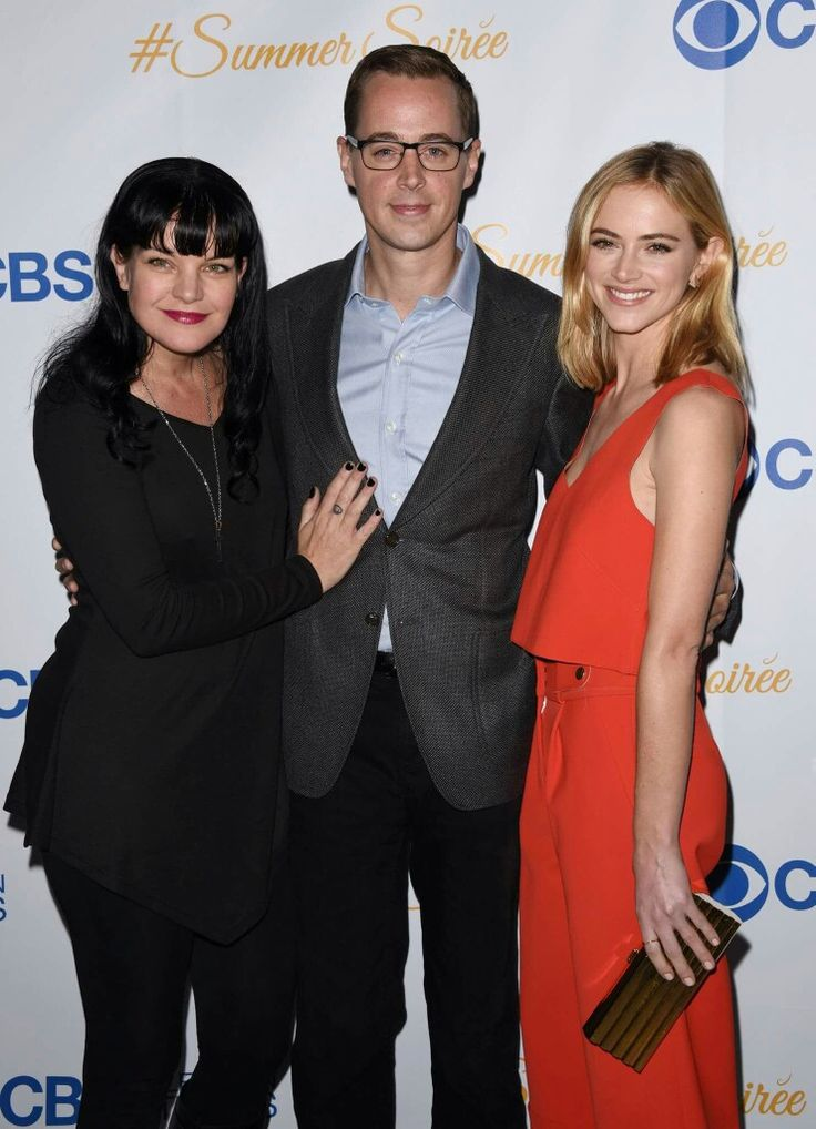 Pauley Perrette, Sean Murray, and Emily Wickersham