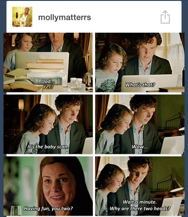 Umm...Sherlolly headcanon ACCEPTED!!