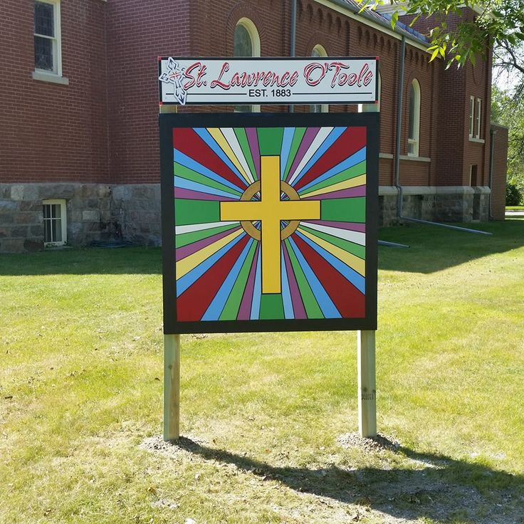 Image result for barn quilts on churches