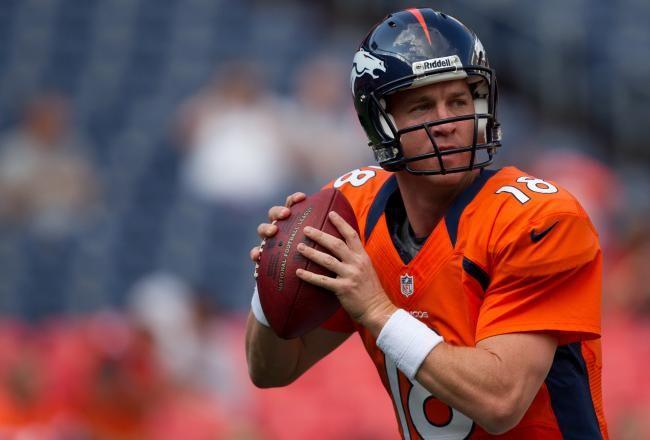 Peyton Manning, number 18