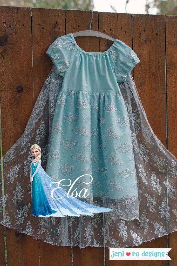 Elsa play dress - jenirodesigns.com