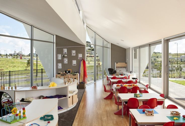 Fantails Childcare in Auckland, designed by Collingridge & Smith Architects | furniture modules by Starex