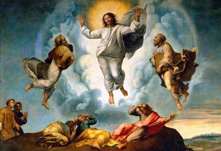 Buenas tardes hermanas y hermanos en Cristo hoy estamos celebrando con gran gozo y alegría la Fiesta de la #TransfiguracionDelSenor. #ArqTl #CristoViveEnMedioDeNosotros.  https://www.aciprensa.com/recursos/fiesta-de-la-transfiguracion-del-senor-2885/