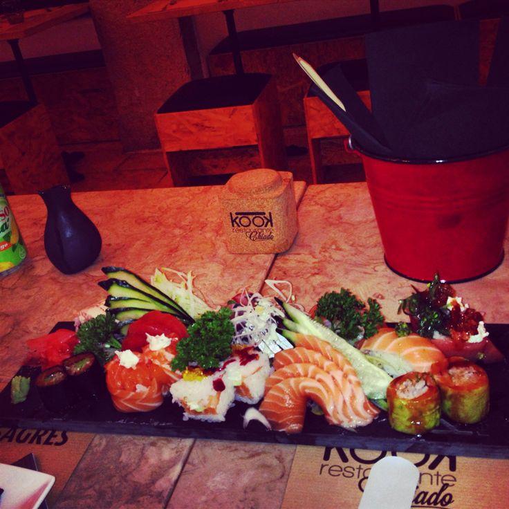 Sushi kook restaurante chiado lisbon