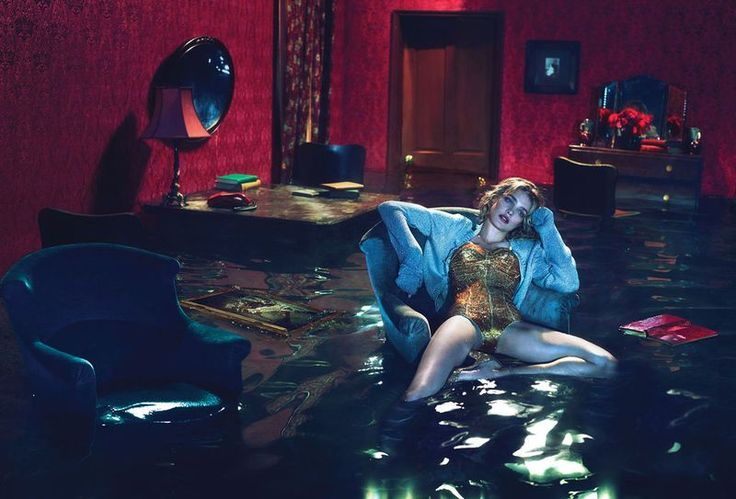 Natalia Vodianova photographed by Mert & Marcus for W, December 2012.