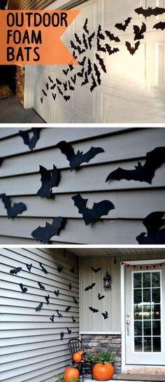 Awesome Garage Door Decorating Ideas for Halloween #happyhalloween