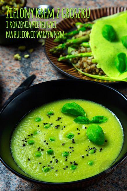 Zielono na talerzu part 3 - Zielony krem z groszku i korzenia pietruszki na bulionie warzywnym http://gotowaniezpasja.pl/zupy/366-zielony-krem-z-groszku-i-korzenia-pietruszki-na-bulionie-warzywnym #foodphotography #foodporn #fotografiakulinarna #blogkulinarny #gotowaniezpasją #pawełłukasik #grzegorztargosz