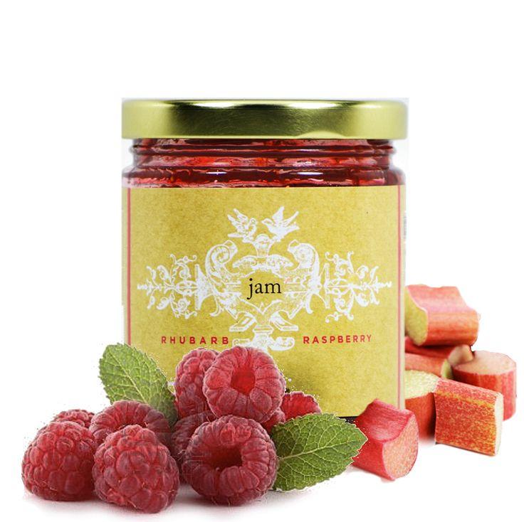 Raspberry Rhubarb Jam