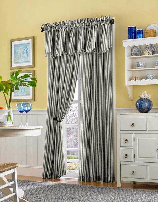17 Best Images About Curtain Ideas For Dining Room On Pinterest Country Style Bay Window