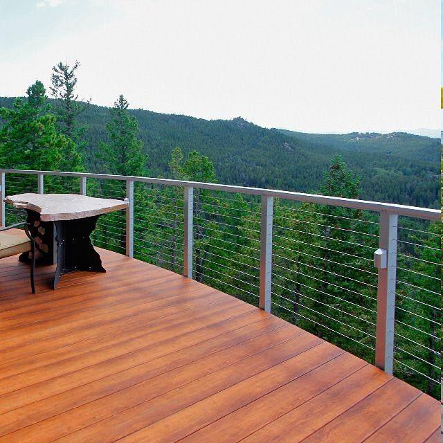 Second Place Picturesque Colorado Deck With Designrail Segmented