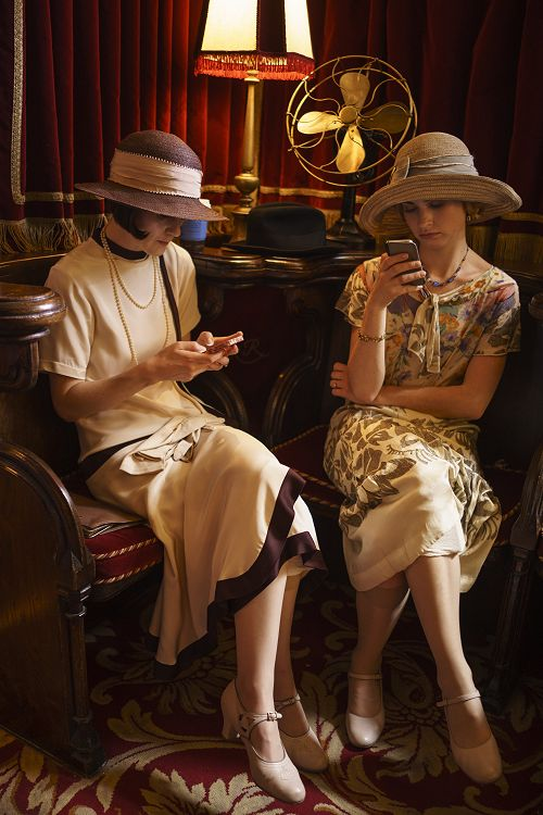 Behind the Scenes - Downton meets modern day technology
