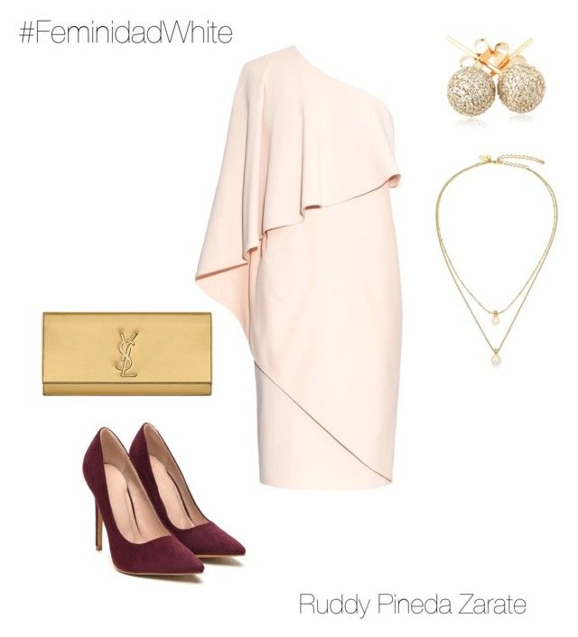 """""""Noche de gala"""" by ruddy-pineda-zarate on Polyvore featuring Givenchy, Yves Saint Laurent, Kate Spade and Loushelou"""