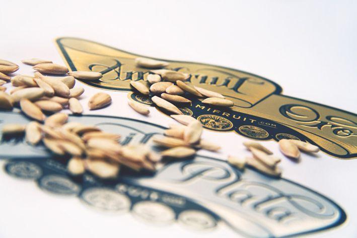 Diseño de Etiqueta de Melón