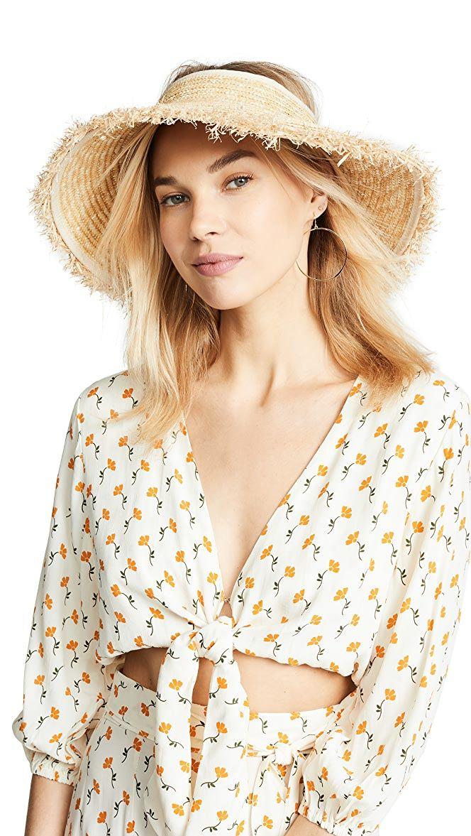 Hat Attack Beach Visor Celebrity Style Guide Celebrity Style Celebrity Dresses