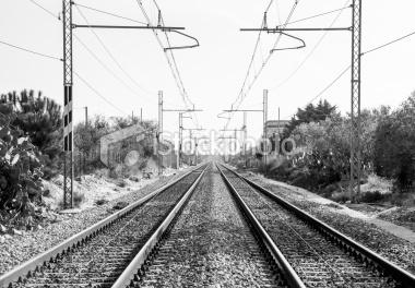 Railway among the country