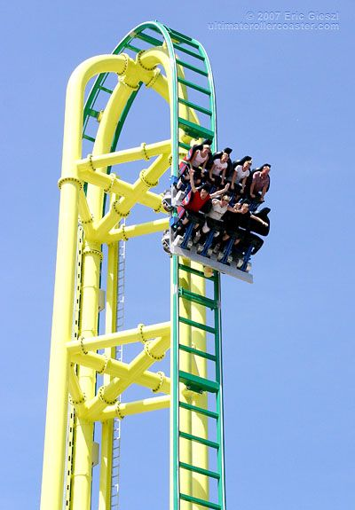 the Wicked roller coaster at Lagoon amusement park. Even more fun with my sister!  here is one for you KELSEY