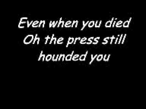 Elton John- Candle In The Wind. with lyrics - Ive always loved this song for some reason