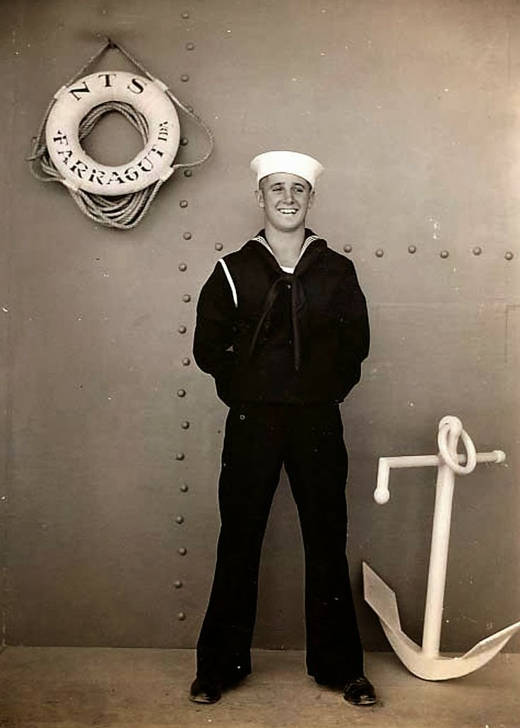 Hot Vintage Men: The Sexy Seaman