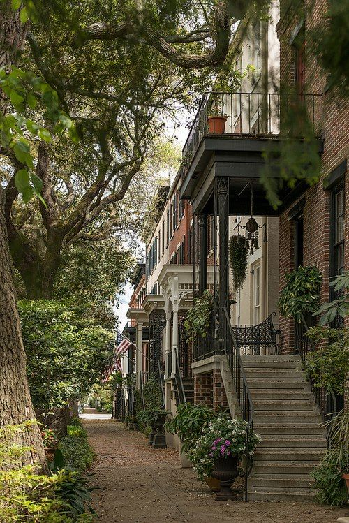 Savannah Georgia, a favorite place to visit.- looks like Montreal in this pic!!!