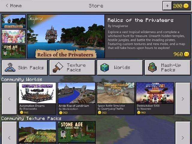 マイクロソフト、「Minecraft」のオンラインストアを開設へ - CNET Japan