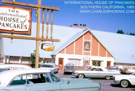 Remember when IHOP looked like this and it was called The International House of Pancakes?