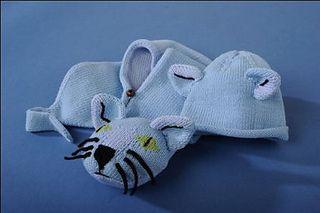 Le chat bleu - le bonnet by Véronique Vieljeux - free