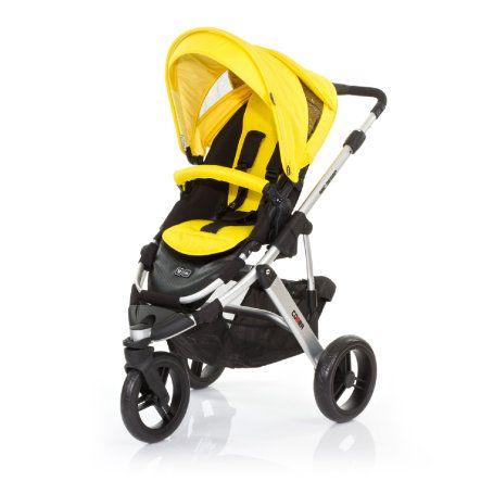 ABC DESIGN Kinderwagen Cobra citro Frame silver/black Collectie 2015 pinkorblue.nl ♥ Ruim 40.000 producten online ♥ Nu eenvoudig online shoppen!