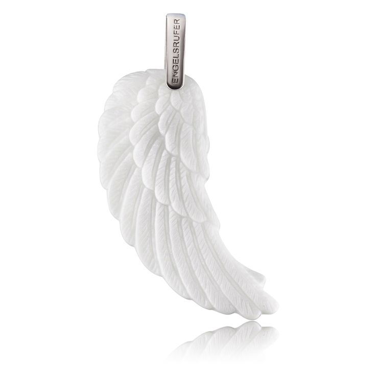 Angel cheramics wing pendant. The best price. $103.00 Click to open. Safe website and Worldwide delivery. Large pendant made of ceramic and rhodium plated 925 sterling silver. Rhodium plated surface: enhanced wearing