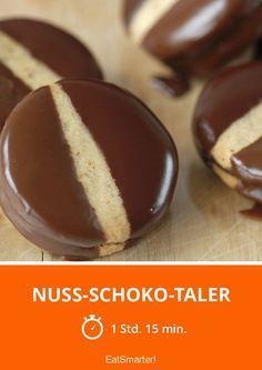 Nuss-Schoko-Taler