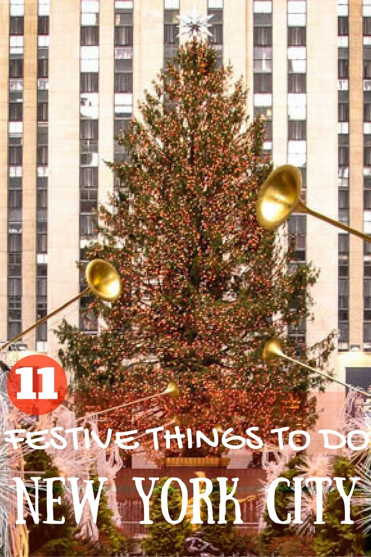 11 festive things to do during Christmas holiday season in New York City