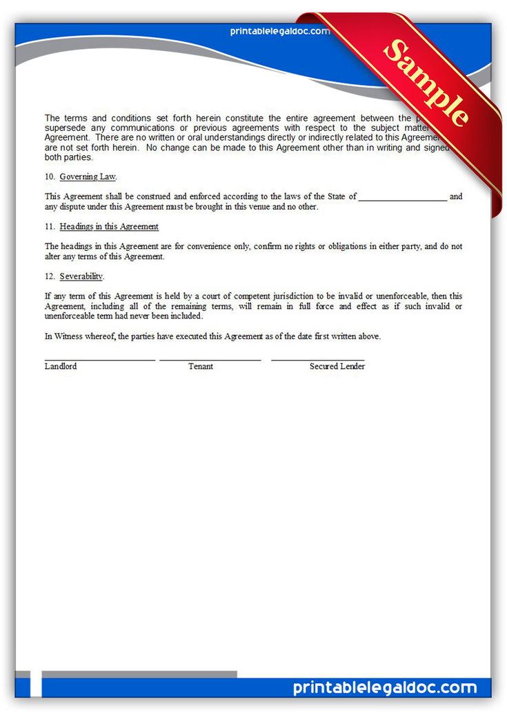 free printable waiver of distraint chattel claims legal forms legal