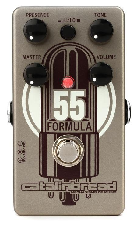 Catalinbread Formula No 55 Tweed Deluxe Style Overdrive Pedal In