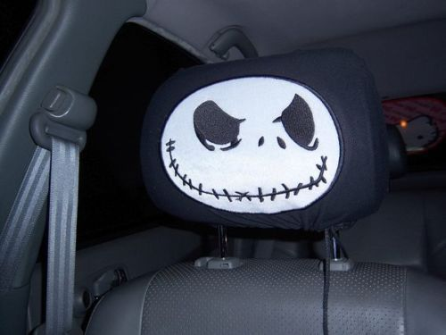 New Jack Nightmare Before Christmas 2 Car Headrest Covers | eBay
